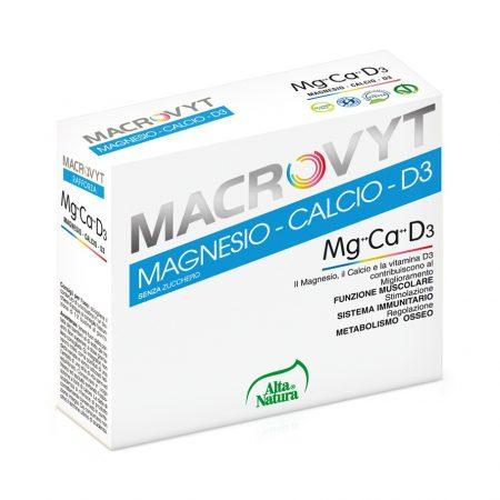 Macrovyt magnesio calcio d3